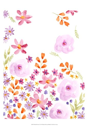Blush Blooms I Poster by Regina Moore for $50.00 CAD