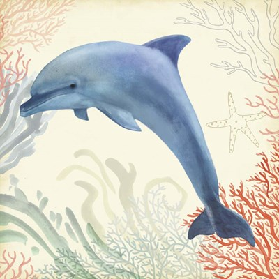 Underwater Whimsy II Poster by Victoria Borges for $32.50 CAD