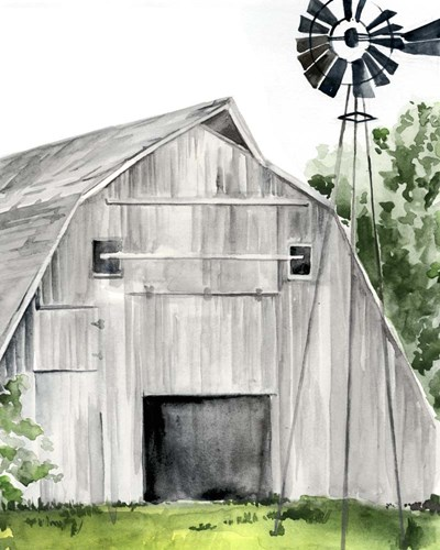 Weathered Barn II Poster by Jennifer Parker for $53.75 CAD