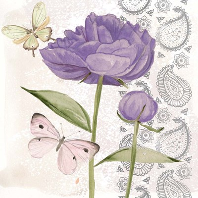 Flowers & Lace IV Poster by Jennifer Parker for $32.50 CAD