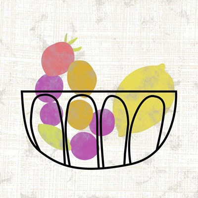 Fruitilicious II Poster by Chariklia Zarris for $32.50 CAD