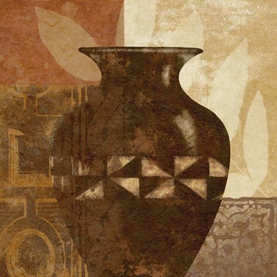 Ethnic Vase IV Poster by Alonzo Saunders for $53.75 CAD