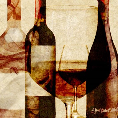 Smokey Wine II Poster by Alonzo Saunders for $32.50 CAD