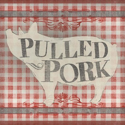 Gingham BBQ IV Poster by June Erica Vess for $32.50 CAD