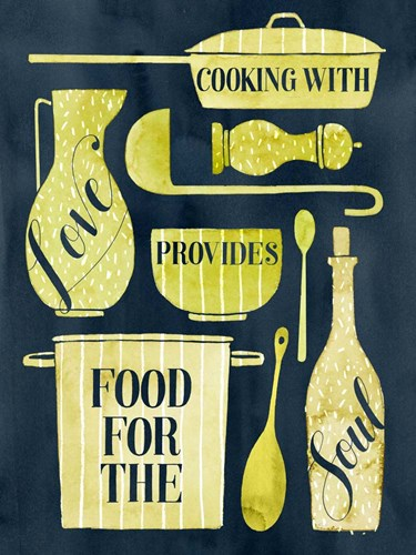 Food for the Soul II Poster by Grace Popp for $38.75 CAD