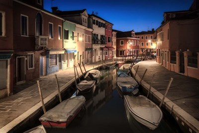 Burano Street Lights II Poster by Danny Head for $42.50 CAD