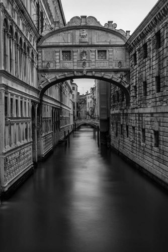 B&W Bridge of Sighs Poster by Danny Head for $60.00 CAD