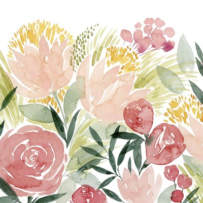 Sunkissed Posies I Poster by Grace Popp for $53.75 CAD