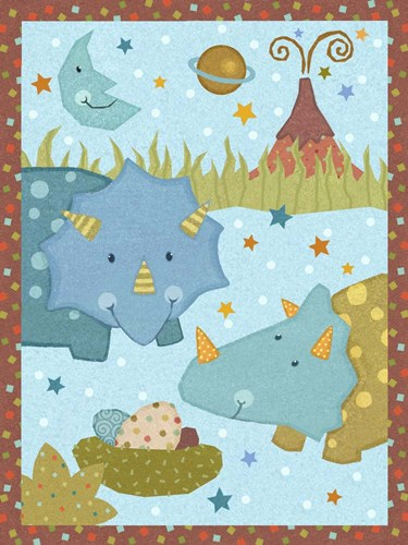Dino Friends I Poster by Vivian Eisner for $38.75 CAD