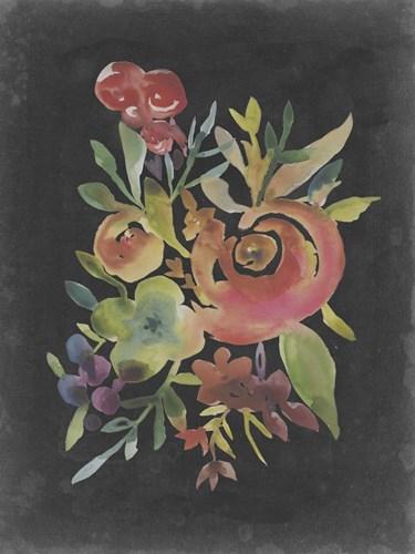 Velvet Floral I Poster by Chariklia Zarris for $38.75 CAD