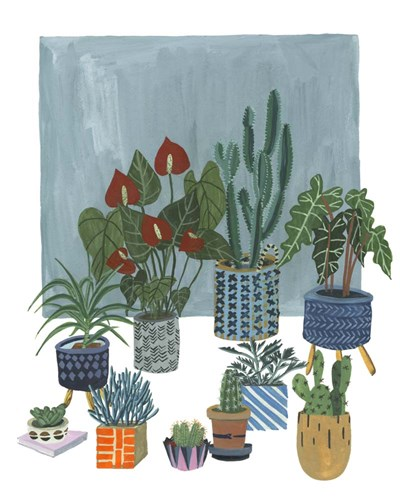 A Portrait of Plants I Poster by Melissa Wang for $53.75 CAD
