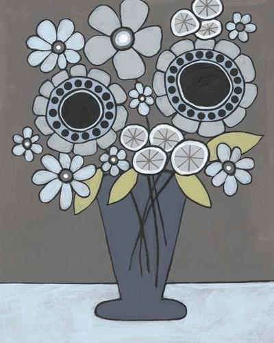 Happy Garden Flowers II Poster by Regina Moore for $53.75 CAD