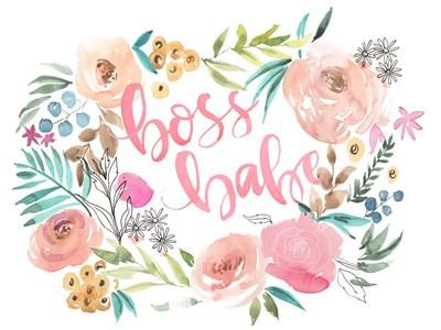 Boss Babe I Poster by Jennifer Parker for $38.75 CAD