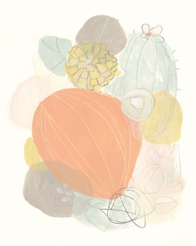 Abstract Succulents I Poster by June Erica Vess for $52.50 CAD