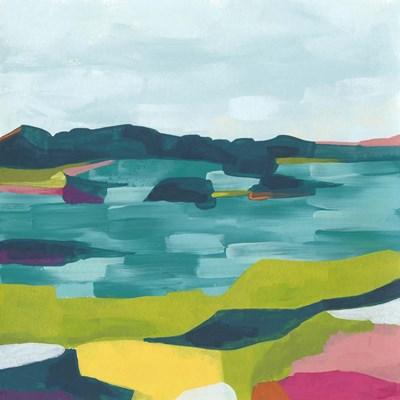 Kaleidoscope Coast II Poster by June Erica Vess for $53.75 CAD