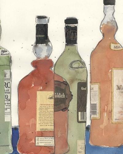 Malt Scotch I Poster by Sam Dixon for $53.75 CAD