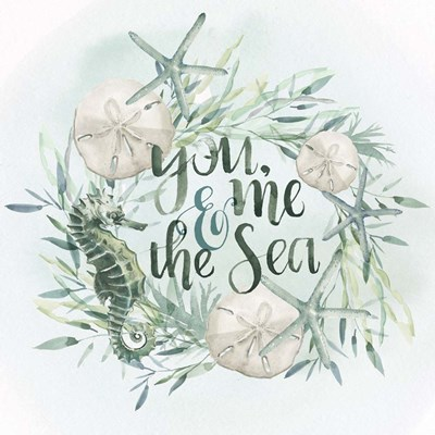 Drawn to the Sea I Poster by Jennifer Parker for $32.50 CAD