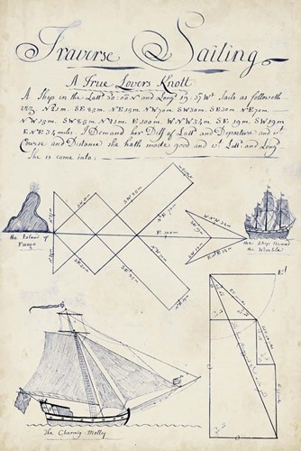 Nautical Journal II Poster by Vision Studio for $60.00 CAD