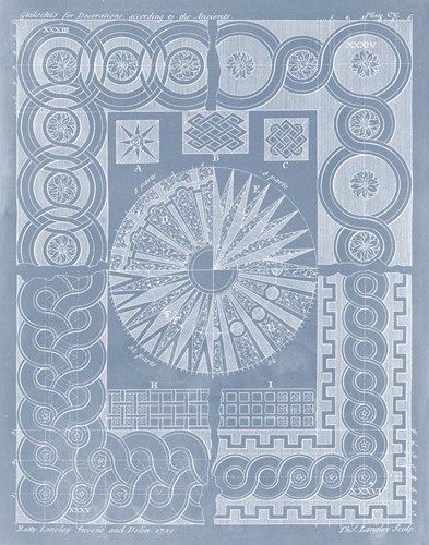 Elements for Design III Poster by Batty Langley for $78.75 CAD
