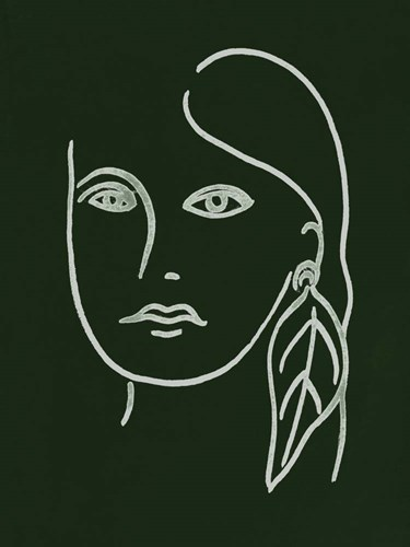 Malachite Portrait I Poster by Melissa Wang for $38.75 CAD