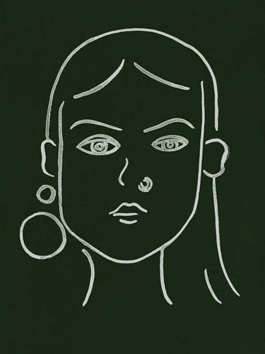 Malachite Portrait IV Poster by Melissa Wang for $38.75 CAD