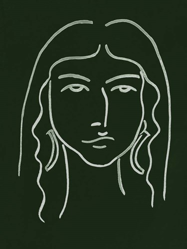 Malachite Portrait VI Poster by Melissa Wang for $38.75 CAD