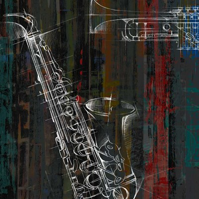 That Jazz II Poster by Studio W for $32.50 CAD