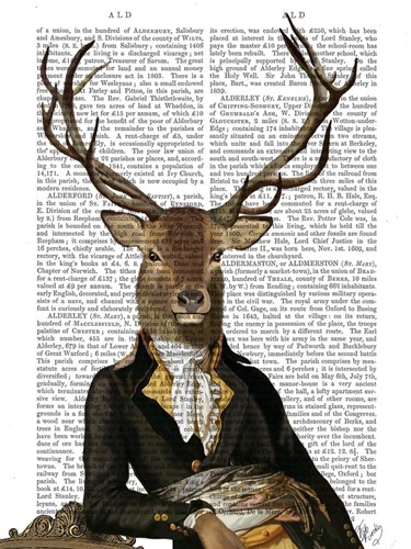 Deer in Chair Poster by Fab Funky for $38.75 CAD