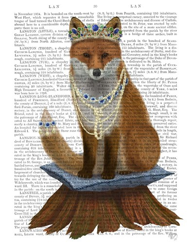Fox with Tiara, Full Poster by Fab Funky for $33.75 CAD