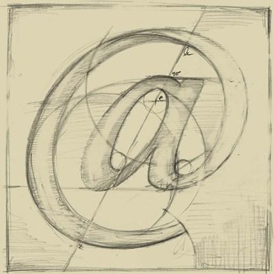 Drafting Symbols I Poster by Ethan Harper for $20.00 CAD