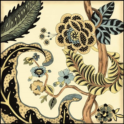 Small Jacobean Tile I (P) Poster by Chariklia Zarris for $32.50 CAD