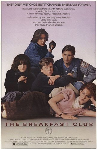 Breakfast Club Poster by Unknown for $12.50 CAD
