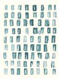 Blue Batik Motif II
