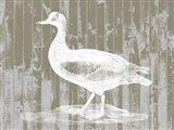 Woodgrain Fowl II
