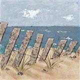 Beach Scene Triptych II