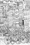 B&W City Scene I