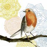 Mandala Bird IV