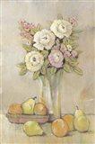 Still Life Study Flowers & Fruit I