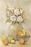 Still Life Study Flowers & Fruit II