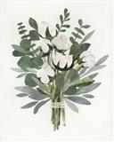 Cut Paper Bouquet IV