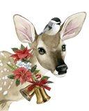 Deer Christmas I