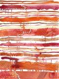 Tangerine Stripes II