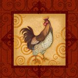 Decorative Rooster IV