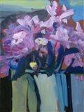 Violet Spring Flowers III