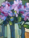 Violet Spring Flowers V