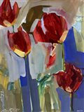 Painterly Tulips I