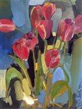 Painterly Tulips II