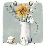Cotton Bouquet I