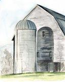Weathered Barn I