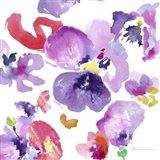 Watercolor Flower Composition III